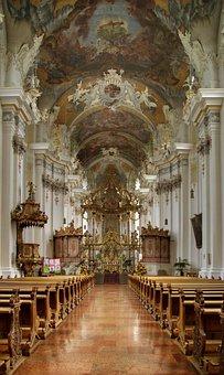 Church, Baroque, Parish Church, Saint Paulin, St Paulin