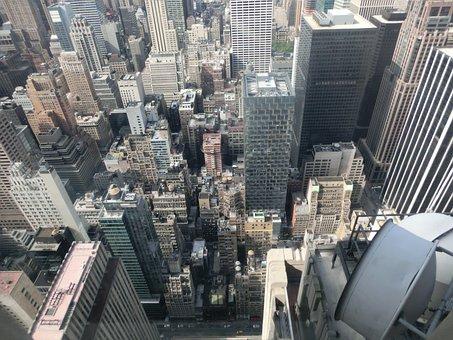 New York, Street Canyons, Usa, Skyscraper, America
