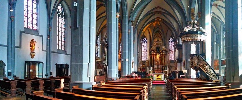 St Lambertus, Düsseldorf, Church, Basilica