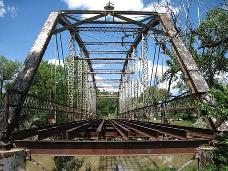 Trestle, Bridge, Steel Bridge, Structure, Steel, Open