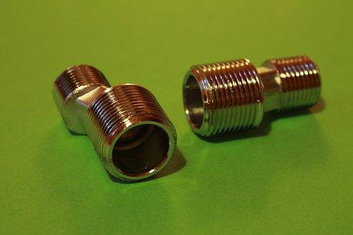 Thread, Metal, Iron, Object, Screw Caps, Industry