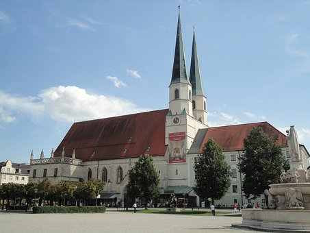 Collegiate Church, Altötting, Upper Bavaria
