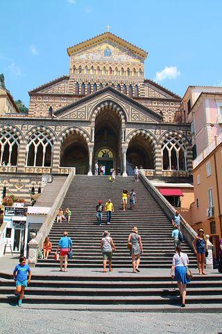 Amalfi, Italy, Coastline, Sorrento