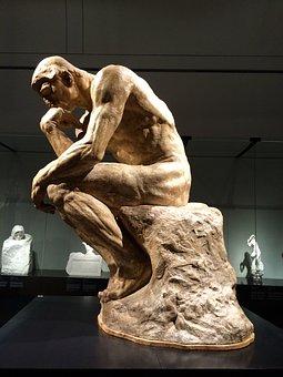 Auguste Rodin, Sculpture, The Thinker, Art Exhibition