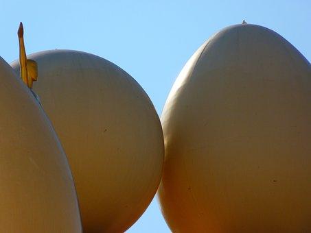 Egg, Ball, Figure, Museum, Figueras, Dalí, Spain
