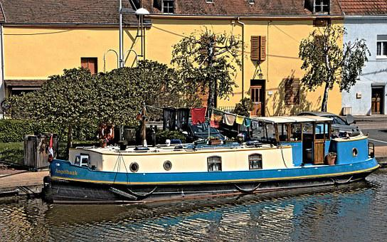 Boat, Colors, Channel, Wharf, Colored, Navigation