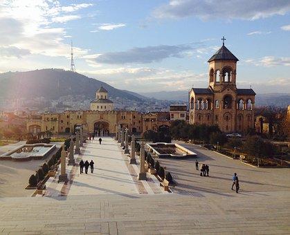 Tbilisi, Georgia, City, Architecture, Old, Eastern