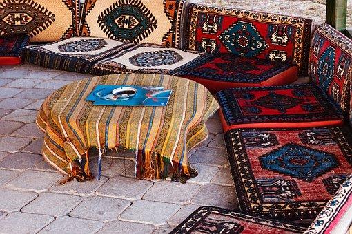 Café, Color, Culture, Decor, Decoration, East, Eastern