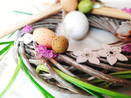 Easter, Easter Eggs, Art, Egg, Colorful