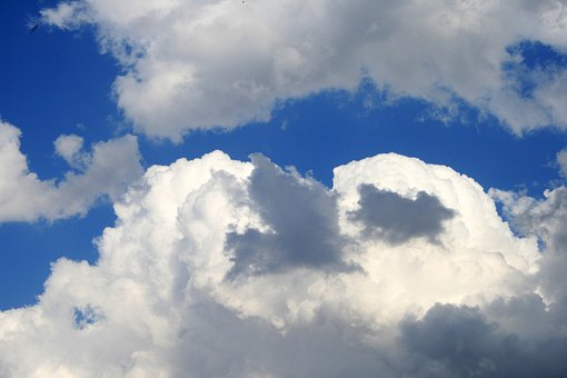 Clouds, Sky, Blue, Weather, Air, Day, Environment