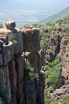 Valley Of Desolation, Dolerite Stacks, South Africa