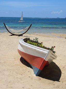 Holiday, Beach, Summer, Mauritius, Hammock