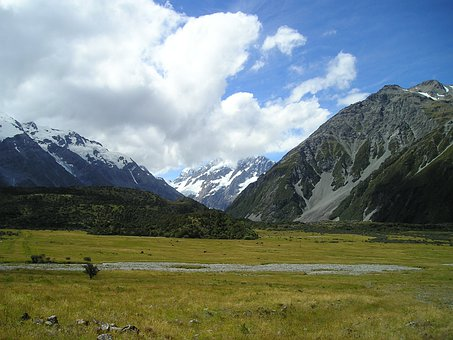 New Zealand, Mountain, Mount Cook, Mt Cook, Mountains