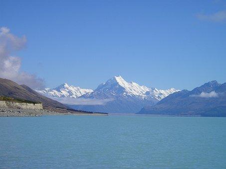 New Zealand, Mount Cook, Aoraki, Mountain, Mt Cook