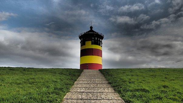 East Frisia, Nature, North Sea, Coast, Holiday, Mood