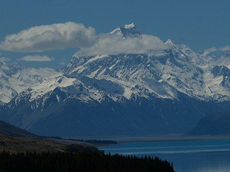 Mount Cook, New Zealand, Nature, Landscape