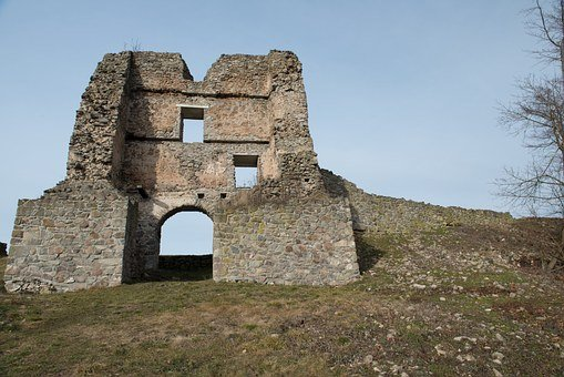 Basket Case, Gateway, Desolate Castle, Slovakia, Nature