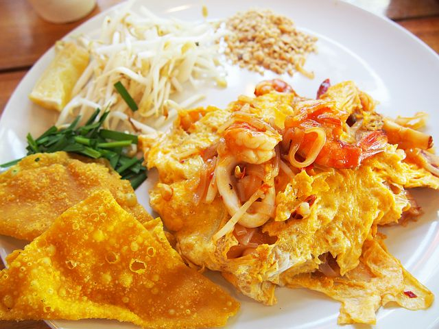 Pad Thai, Thai Food, Food, Noodle, Egg, Delicious