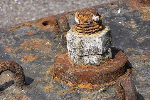 Stainless, Tooth Of Time, Rusted, Screw, Old