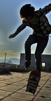 Skateboarding, Skateboarder, Skateboard