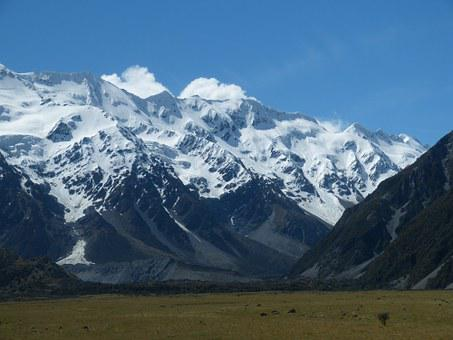 New Zealand, South Island, Southern Alps, Mountain