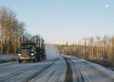 Logging Truck, Transportation, Technical