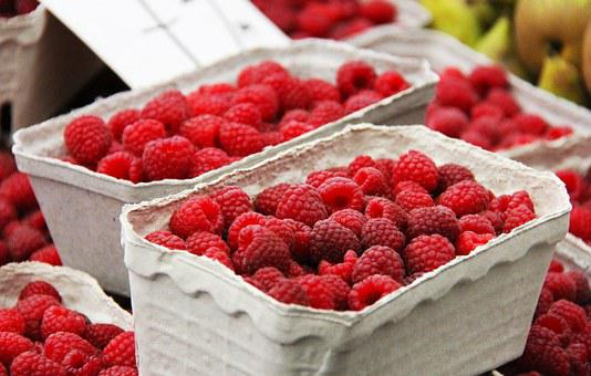 Fruits, Raspberry, Berry, Red, Healthy, Traditional
