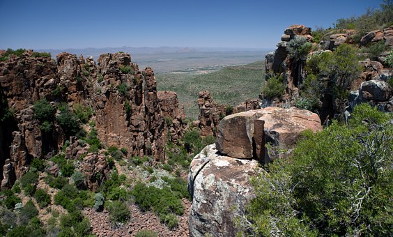 Valley Of Desolation, South Africa, Eastern Cape