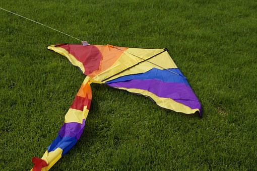 Dragons, Colorful, Kites Rise, Autumn, Wind, Windy