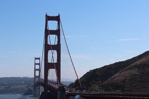 Bridge, Golden Gates, San Francisco, Golden Gate Bridge