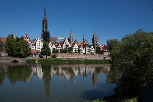 Ulm, City, Building, Architecture, City Wall, Gothic