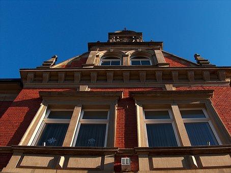 Town Hall, Hockenheim, Building, Architecture