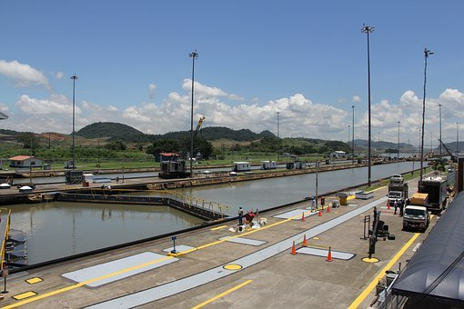 Panama Canal, Construction, Channel, Central America