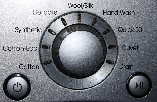 Washing Machine, Display, Control Panel, Tie, Switch