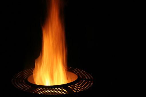 Fire, Dark, Burn, Flame, Washing Machine, Campfire