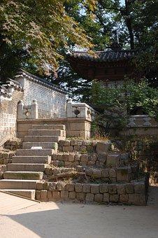 Changdeokgung, Palace, Garden, Landscape, South Korea