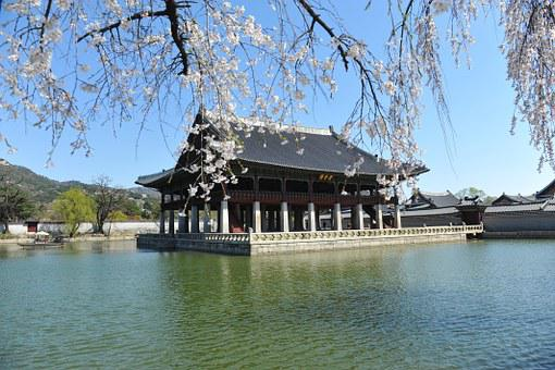 Republic Of Korea, Forbidden City, Gyeonghoeru, Seoul