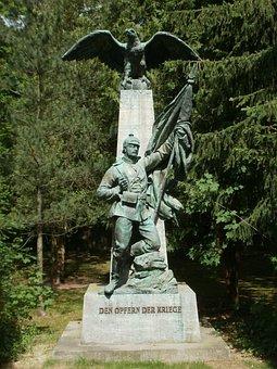 Kriegerdenkmal, Hockenheim, Prussian, War, Memorial