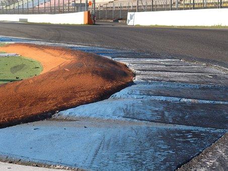 Circuit, Asphalt, Race Track, Vibrator, Hockenheim