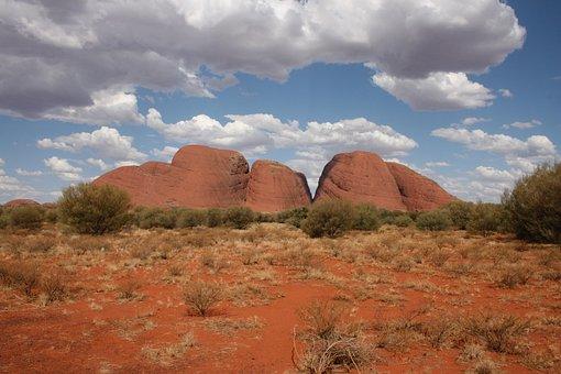 Kata Tjuta, Olgas, Australia, Kata, Tjuta, Landscape
