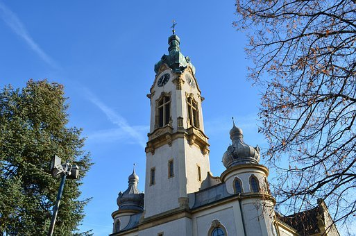 Hockenheim Germany, Church, Protestant