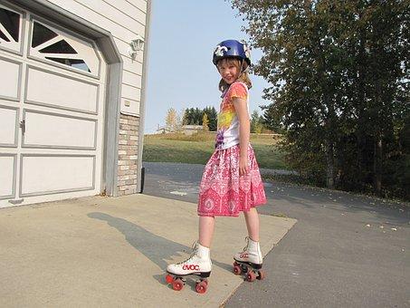 Roller Skating, Outdoor Activity, Roller, Skating