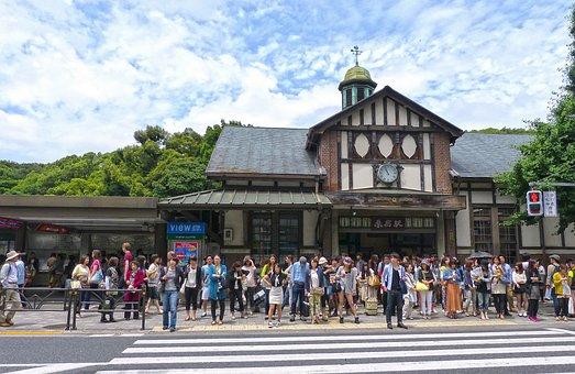 Japan, Tokyo, Harajuku, Japanese, Train Station, Street