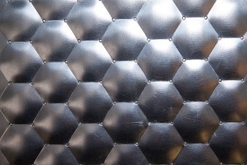 Steel, Non Rusting, Surface, Structure, Fund, Embossing