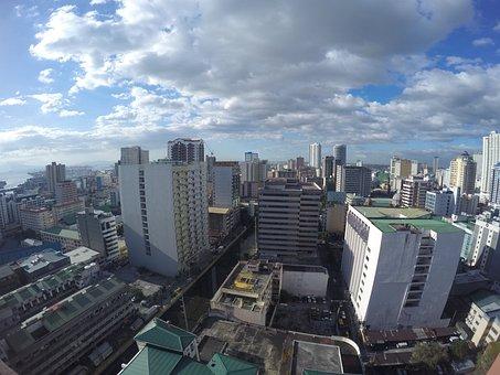 Manila, Building, Philippines, Binondo, Sky, Tower