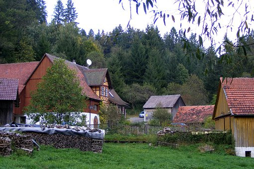 Mill On The Red, Swabian Franconian Forest, Building