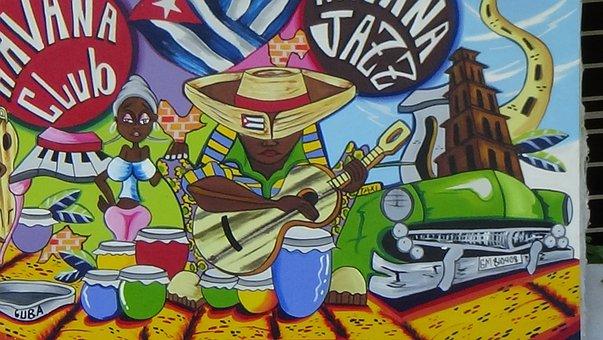 Havana, Cuba, Cuban Art, Caribbean, Hispanic, Habana