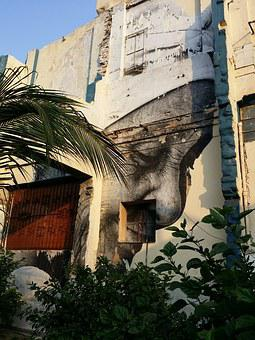 Havana, Cuba, Street Art, Mural, Caribbean