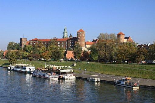 King, Krakow, Poland, Architecture, Cracow, Wawel