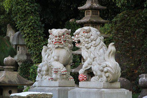 Dog, Sculpture, Shisa, Okinawan Mythology
